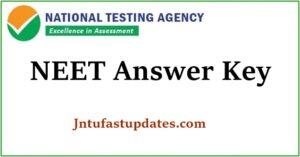 NEET 2020 Answer key