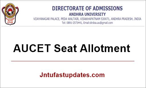 AUCET-Seat-Allotment-2019