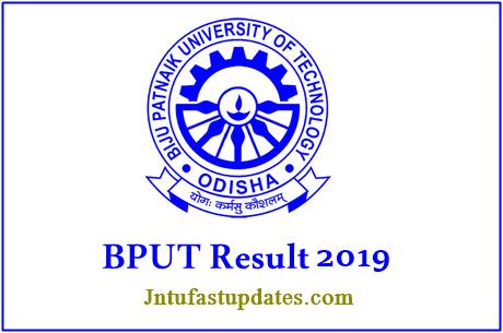 BPUT Results 2019