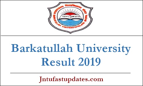 Barkatullah University Results 2019