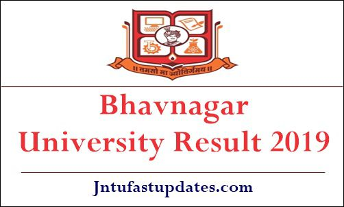 Bhavnagar University Result 2019