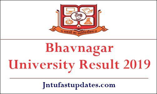 Bhavnagar University Result 2019 - MKBU B A B Sc B Com MA FY