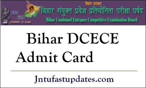 DCECE Admit Card 2020