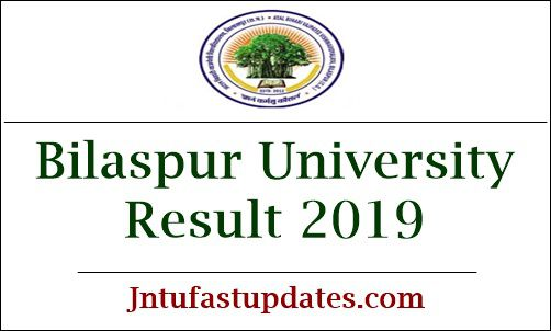 Bilaspur University Result 2019