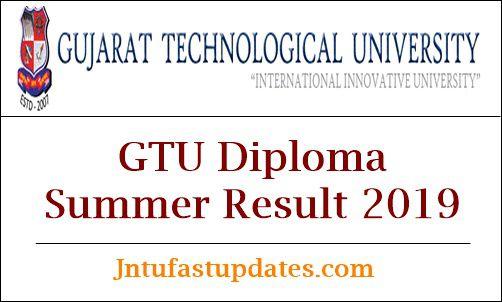 GTU Diploma Summer Result 2019