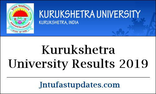Kurukshetra University Results 2019