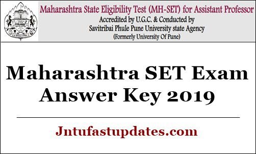 Maharashtra SET Exam Answer Key 2019