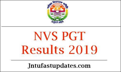 NVS PGT Results 2019