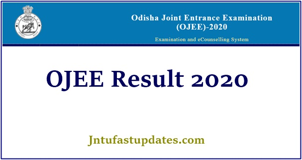 Ojee Result 2020