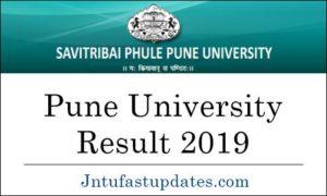 Pune University Result 2019