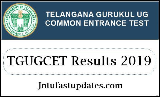 TGUGCET Results 2019