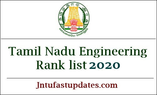 TNEA Rank List 2020
