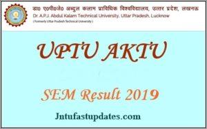 AKTU Result 2020