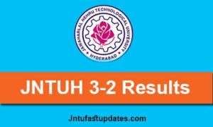 jntuh-3-2-results-2019