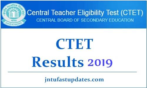 CTET Result 2019 July