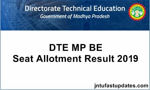 DTE-MP-BE-Seat-Allotment-Result-2019