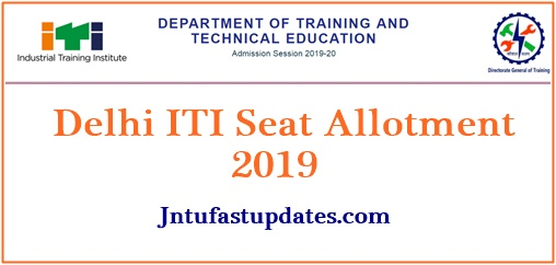 Delhi ITI 4th Round Counseling Results 2019 (Released