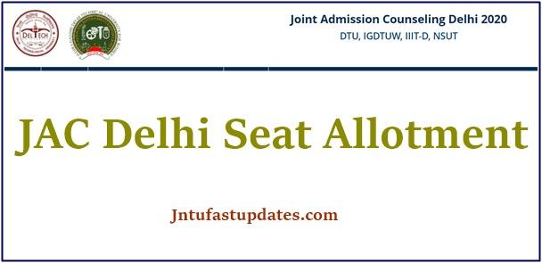 jac delhi seat allotment 2020