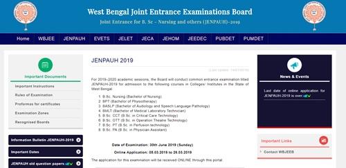 JENPAUH Result 2019