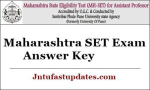 Maharashtra SET Answer Key 2020