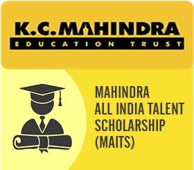 Mahindra all india talent Scholarship 2019