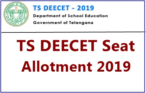 TS DEECET Second Seat Allotment Results 2019