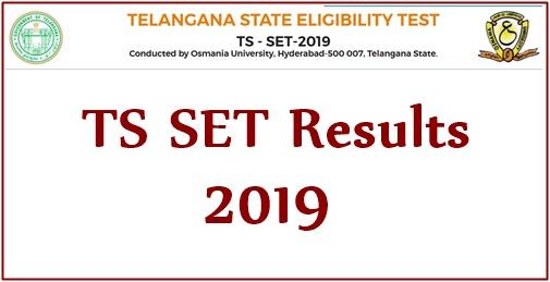 TS SET Results 2019