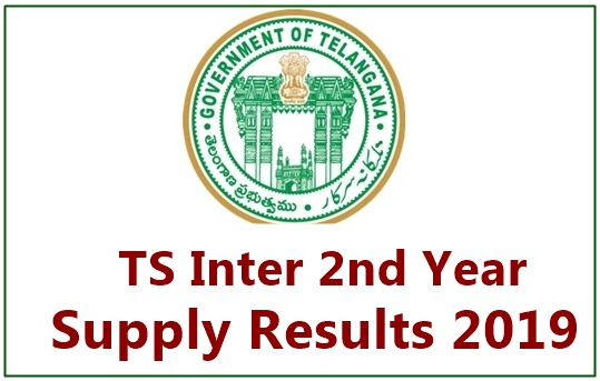 TS Inter 2nd Year Supplementary Results 2019 Manabadi (Declared
