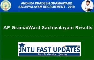 AP-Grama-Sachivalayam-results-2019