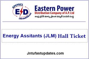 APEPDCL Junior Lineman Hall Ticket 2019