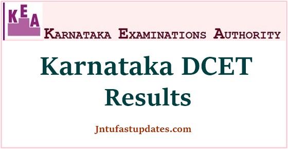 Karnataka Diploma Cet result 2020