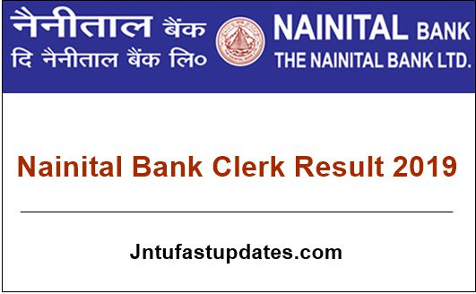 Nainital Bank Clerk Result 2019
