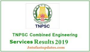TNPSC CESE AE Result 2019 - Assistant Engineer Cutoff Marks, Merit List @ tnpsc.gv.in