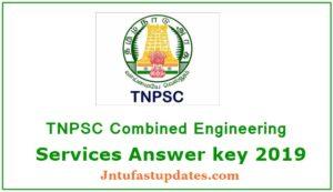 TNPSC AE Answer key 2019