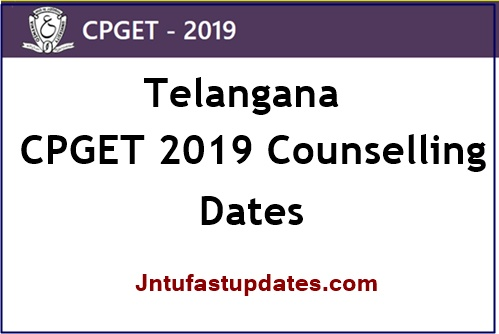 TS CPGET 2nd Counselling 2019 dates