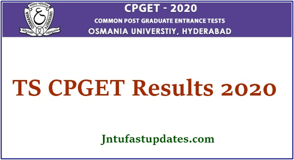TS CPGET Result 2020