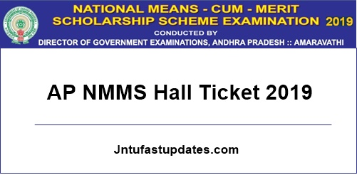 ap nmms hall ticket 2019