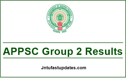 APPSC Group 2 Mains Results 2019