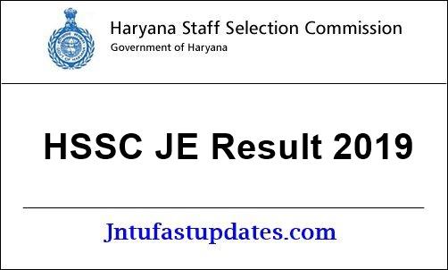 HSSC-je-result-2019