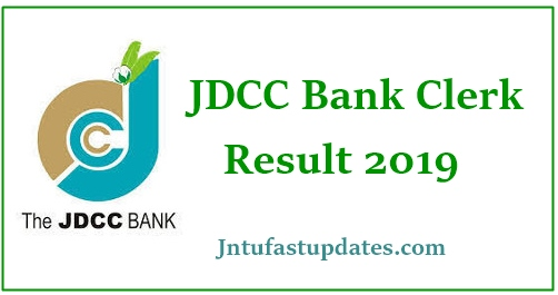 JDCC Bank Clerk Results 2019