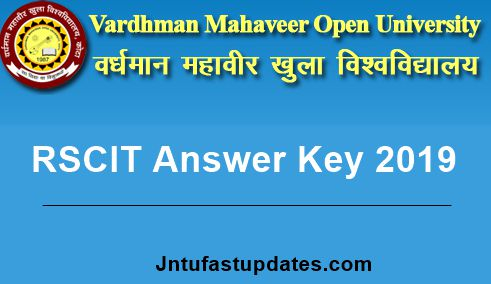 RSCIT Answer Key 2019