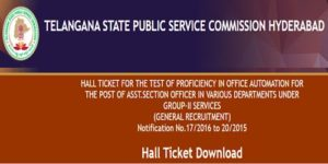 tspsc group 2 hall tickets 2019