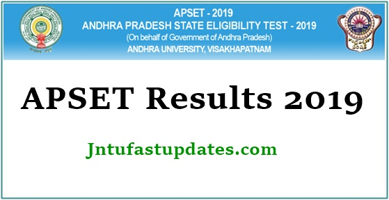 APSET Results 2019