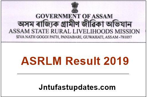 ASRLM Result 2019