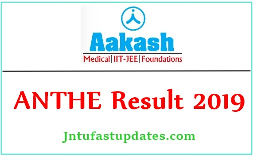Aakash ANTHE Result 2019