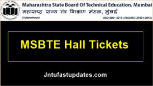 MSBTE-Winter-hall ticket-2019