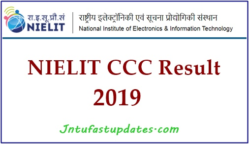 NIELIT CCC Result October 2019