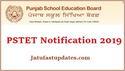 PSTET Notification 2019 Apply Online