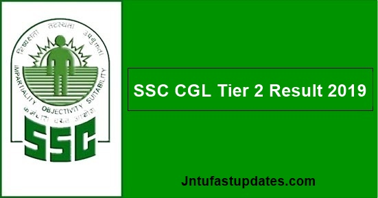 SSC CGL Tier 2 Result 2019