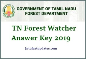 TNFUSRC Forest Watcher Answer Key 2019